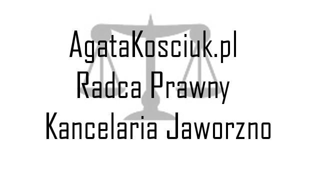 Radca prawny Agata Kościuk