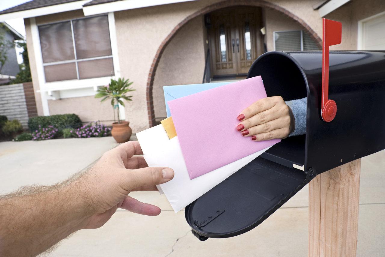 Przekazanie poczty odbiorcą